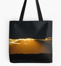Sunday Sunset in October Tote Bag