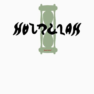 Hourglass Ambigram by banocanut