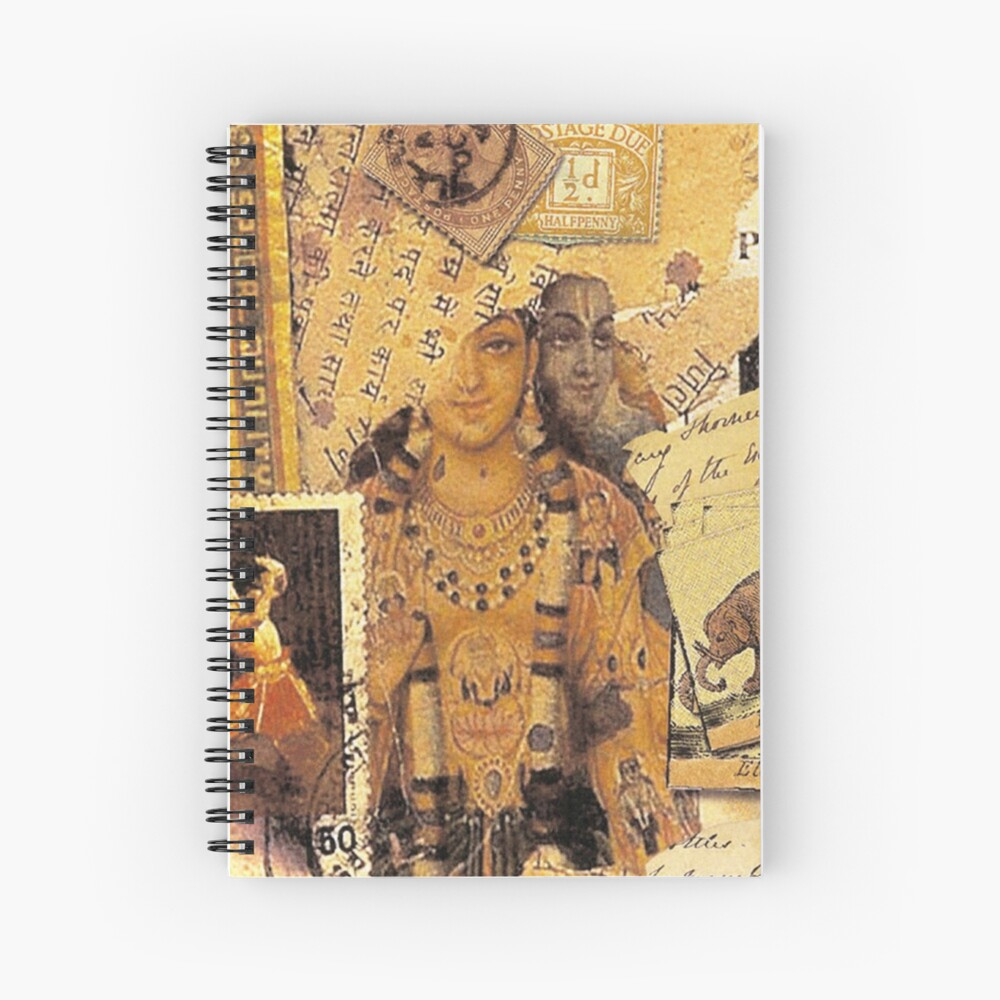 Indian Glories Spiral Notebook
