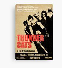 Quentin Tarantino directs Thunder Cats Canvas Print