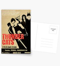 Quentin Tarantino directs Thunder Cats Postcards