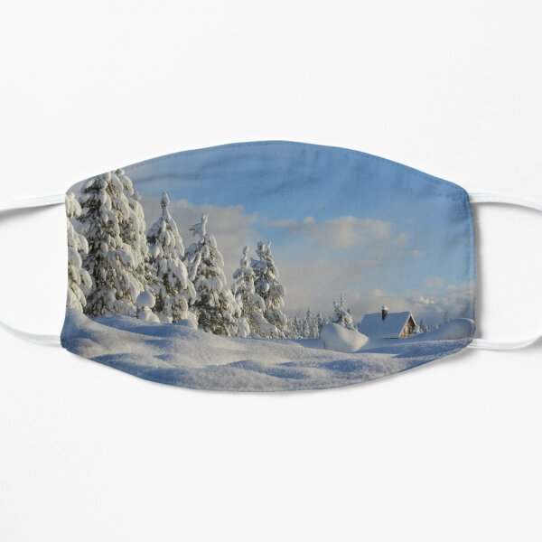 Snow Covered Trees Mask
