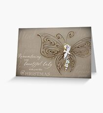 Remembering Your Baby This Christmas Greeting Card