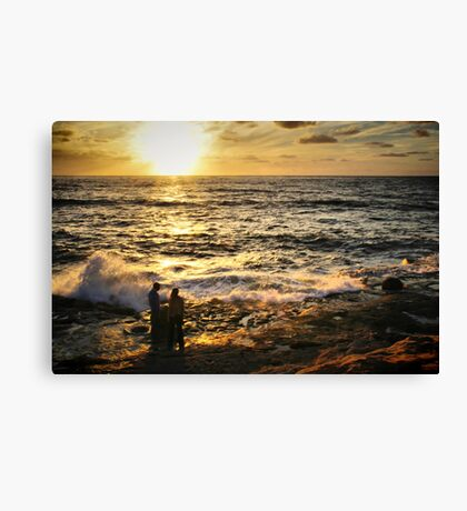 Feeling the Glow Canvas Print