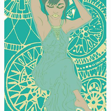 Green Woman by millecar