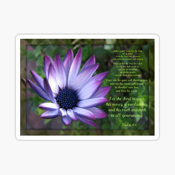 Joyful - Psalm 100 Sticker