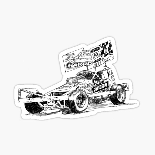 Tom Harris #1 Drawing Sticker