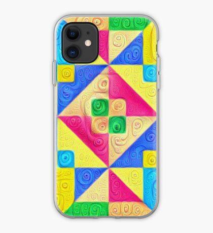 #DeepDream Color Squares Visual Areas 5x5K v1448168644 iPhone Case