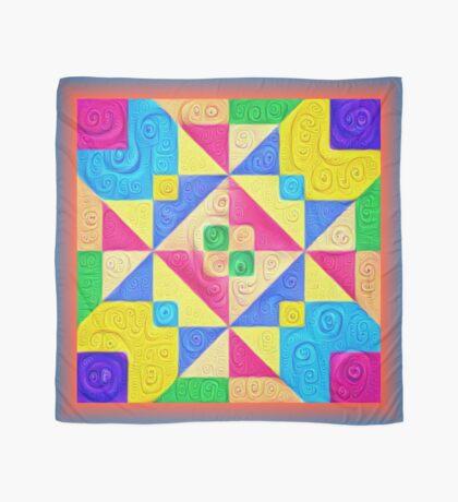 #DeepDream Color Squares Visual Areas 5x5K v1448168644 Scarf