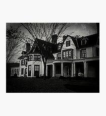 Ringwood Manor - Haunted Historic New Jersey Photographic Print