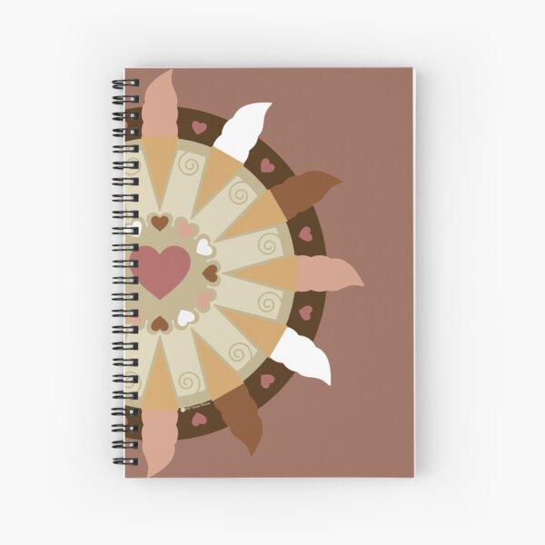Triple Scoop (Neapolitan Version) Spiral Notebook
