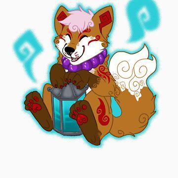 Kitsugami Pup by Anuvia