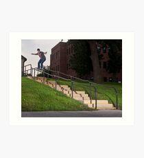Josh Harmony 50-50, photo by Joe Hammeke Art Print