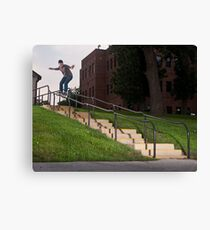 Josh Harmony 50-50, photo by Joe Hammeke Canvas Print