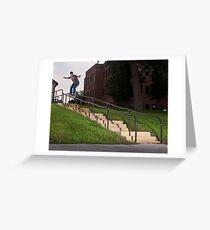 Josh Harmony 50-50, photo by Joe Hammeke Greeting Card