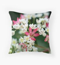 NSW Christmas Bush Throw Pillow