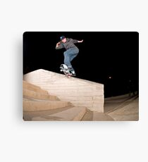 Josh Kalis SW Back Tail, AZ, Photo by Joe Hammeke Canvas Print
