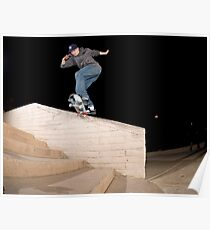 Josh Kalis SW Back Tail, AZ, Photo by Joe Hammeke Poster