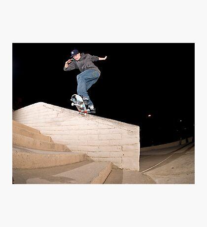 Josh Kalis SW Back Tail, AZ, Photo by Joe Hammeke Photographic Print
