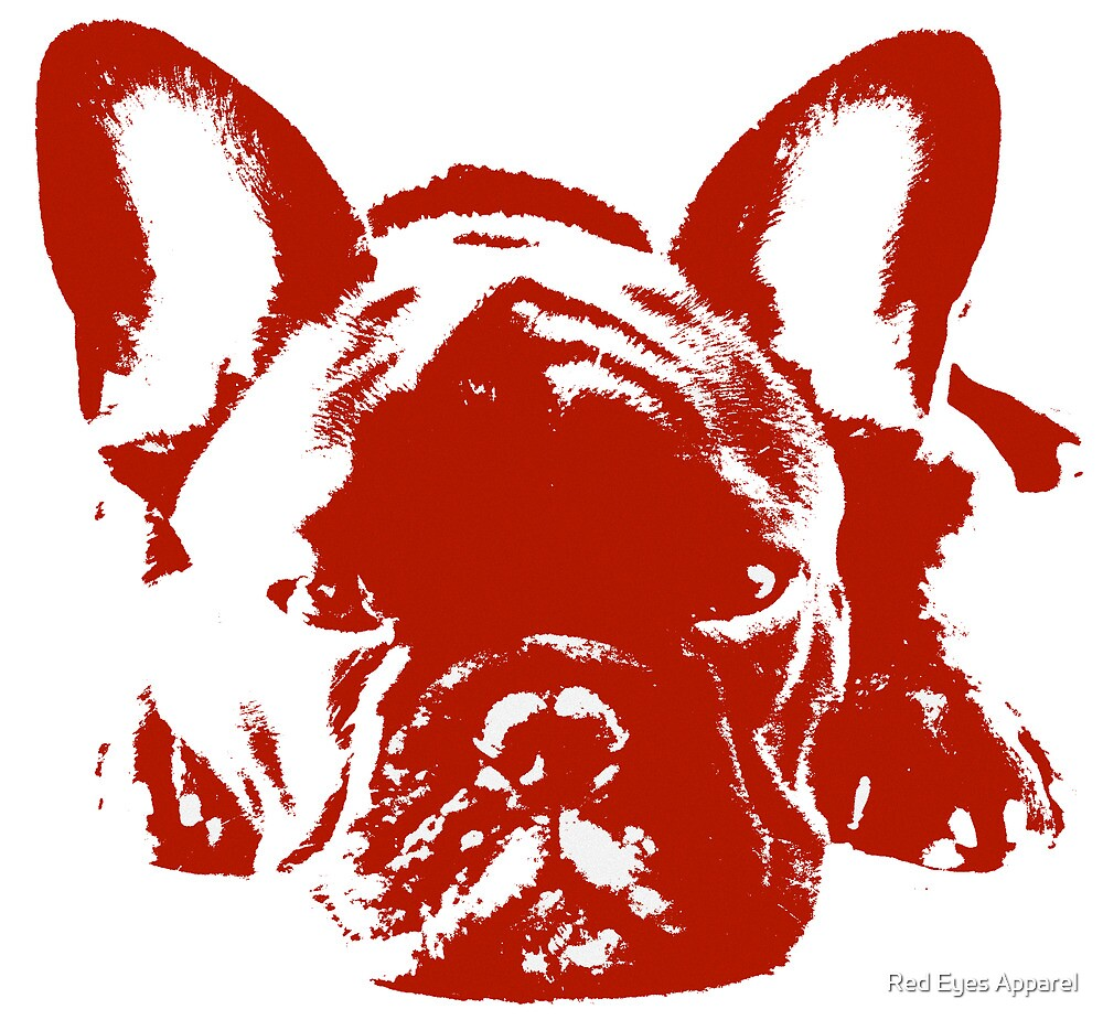 French Bulldog by Red Eyes Apparel