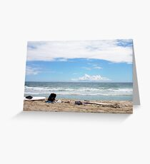 Rob Phillips Surf School -  07 10 12 Greeting Card