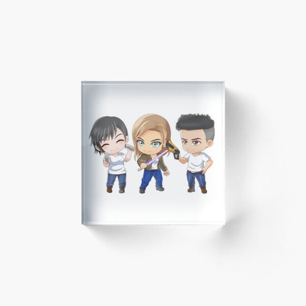Waking Spero Characters Acrylic Block