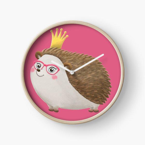 Queen Hedgie (no background version) Clock