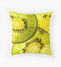 kiwifruit Throw Pillow