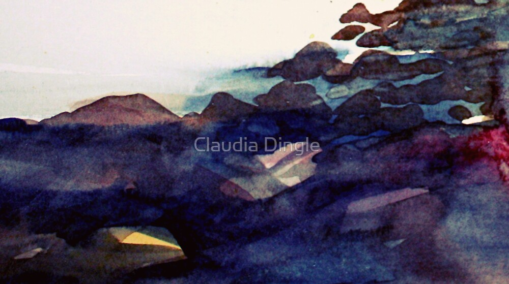 on the rocks by Claudia Dingle