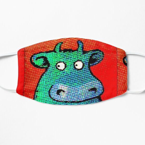 THIS COW IS A HIT Flat Mask