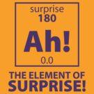 Element of Surprise by DetourShirts