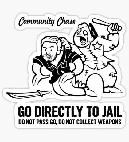 Community Chase Sticker