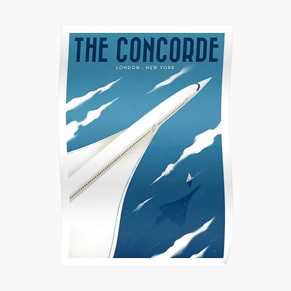 Travel Posters - The Concorde Poster