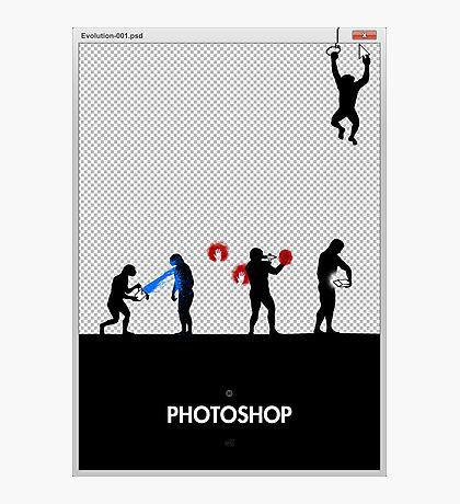 99 Steps of Progress - Photoshop Photographic Print