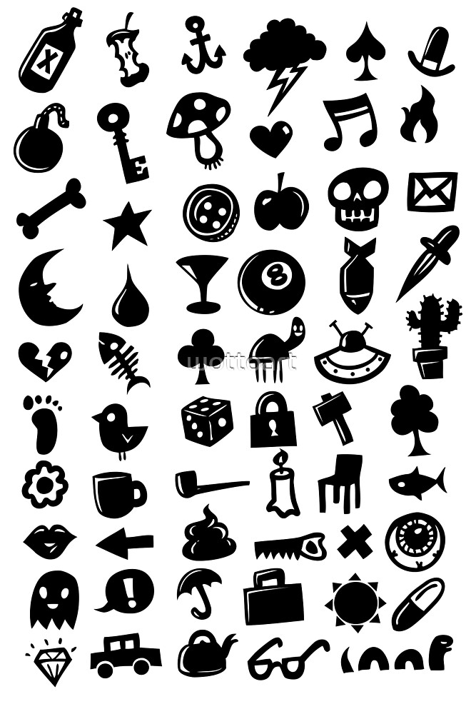 Icons by wottoart