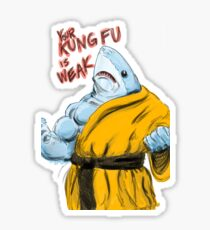 SHAOLIN SHARK Sticker