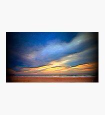 sunset . Lisbon Photographic Print
