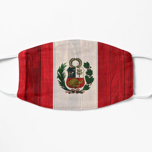 Wood flag of Peru Mask