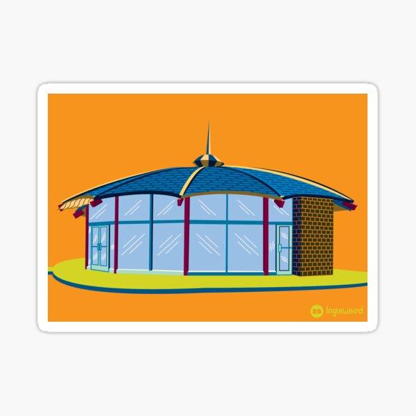 Brolly Hut Sticker