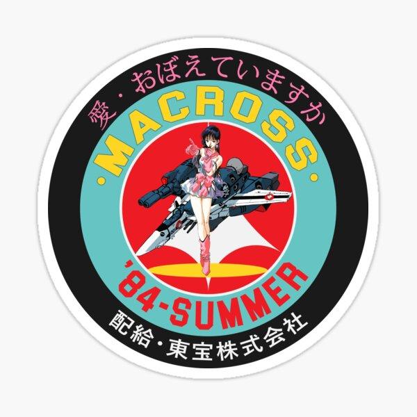 Do You Remember Love? Macross '84-Summer Sticker