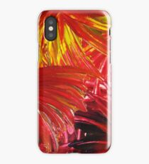 FIREWORKS IN RED - Stunning Bright Bold Acrylic Autumn Colors Leaves Fall Festival Firecrackers Lights iPhone Case