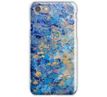 HYPNOTIC BLUE SUNSET - Simply Beautiful Royal Blue Navy Turquoise Aqua Sunrise Abstract Nature Decor iPhone Case/Skin