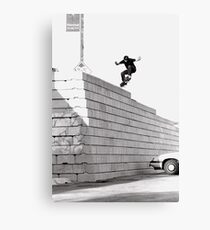 JUB-mega drop in Chicago by Andrew Hutchison Canvas Print