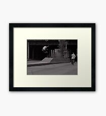 Pat Smith-Chicago photo Andrew Hutchison Framed Print