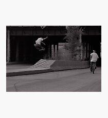 Pat Smith-Chicago photo Andrew Hutchison Photographic Print