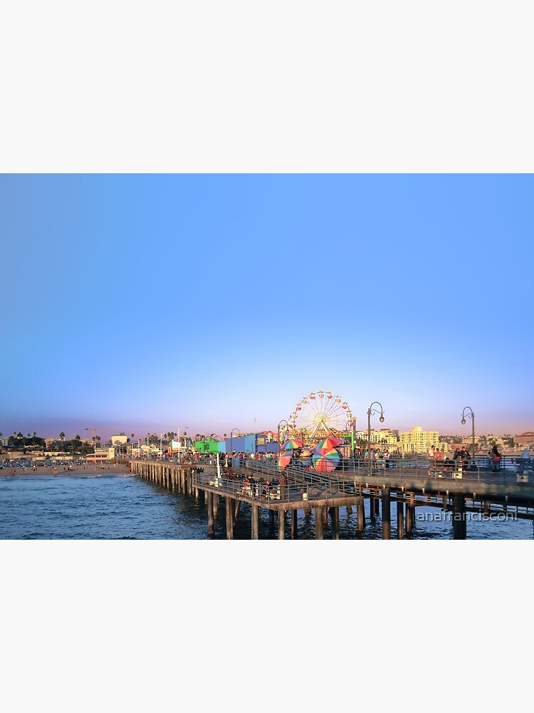 Santa Monica Pier by anafrancisconi