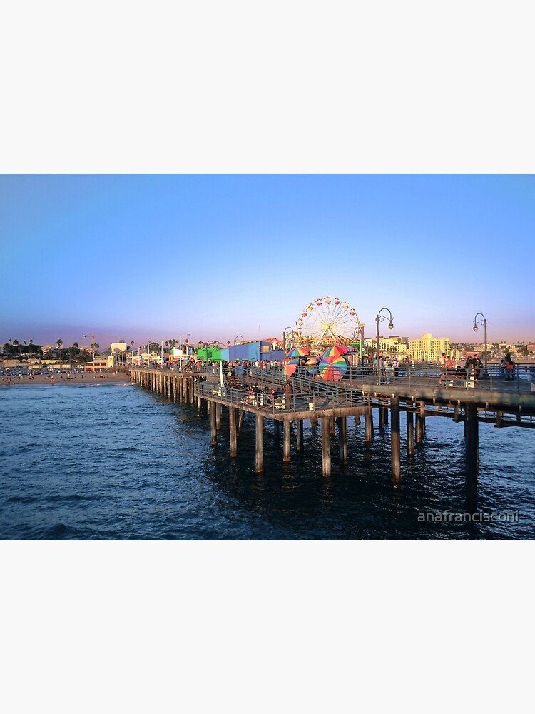 Santa Monica Pier by anafrancisconi