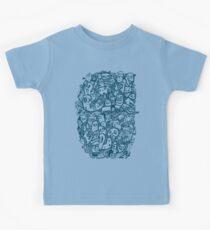 Blue Doodle  Kids Clothes