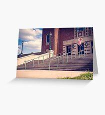 Dan Lutheran - 50-50 - Kansas City - Photo Aaron Smith Greeting Card