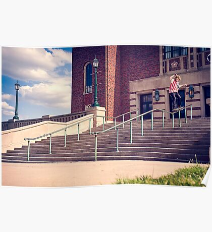 Dan Lutheran - 50-50 - Kansas City - Photo Aaron Smith Poster